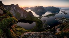 Lofoten, Norway, Midnight Sun by Stefan Forster on Lofoten, Beautiful Places To Visit, Beautiful World, Places To See, Amazing Places, Places Around The World, Around The Worlds, Thing 1, Arctic Circle