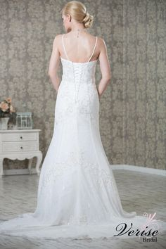 JESSICA  (VIEW OF THE BACK) FROM VERISE BRIDAL NEW IN STORE FOR 2015 ONLY £899