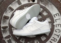 Nike SB Dunk Low - White - Ice Sole - SneakerNews.com