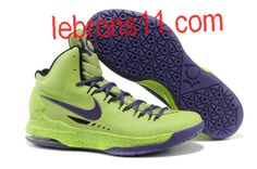 competitive price 05e44 c65f8 Kevin Durant 5 New Green Violet Shoes Nike Air Max Mens, Cheap Nike Air Max