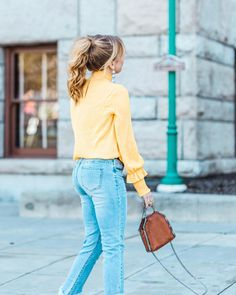 Filed under things that make me : a high ponytail and a good sale. This top and so many of my faves are on sale until tomorrow! More info on the blog or see my faves when you sign up here  // http://liketk.it/2sSzu #liketkit @liketoknow.it #LTKunder100 #LTKunder50 #LTKsalealert