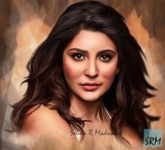 Anushka Sharma by SeemaRMadnani on DeviantArt Pencil Sketch Portrait, Portrait Sketches, Portrait Art, Pencil Sketching, Portrait Photography Men, Digital Art Photography, Celebrity Drawings, Celebrity Portraits, Nayanthara Hairstyle