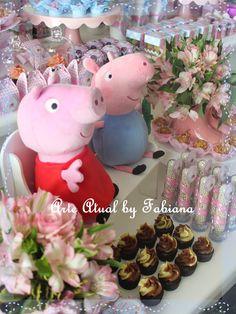 A Porquinha mais amada entre os pequenos, Peppa Pig! Está entre os temas mais pedidos! A Corina j...