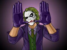 Joker Framing by darknight7.deviantart.com on @deviantART