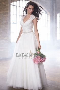 madison james fall 2015 bridal lace queens anne cap sleeves v neckline lace embroidered bodice beautiful a line wedding dress style -- Madison James Bridal Fall 2015 Wedding Dresses Lace Wedding Dress, 2015 Wedding Dresses, Wedding Dress Styles, Bridal Lace, Bridal Dresses, Wedding Gowns, Bridesmaid Dresses, Prom Dresses, Allure Bridals