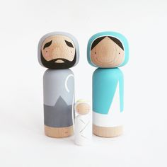 Nativity Kokeshi Dolls | Sketch.inc