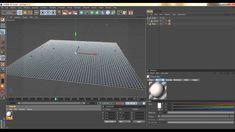 CINEMA 4D - RAINDROP EFFECT - TUTORIAL