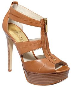 7d63ea433a59 MICHAEL Michael Kors Berkley Platform Sandals Shoes - Sandals   Flip Flops  - Macy s