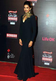 Jan 14, 2014 Screen Awards ~ Deepika Padukone
