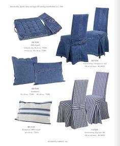 Artwood Indigo Style Blue And White Denim Textiles