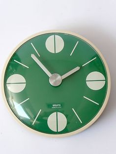 t-mueninkul:    Original 1970s Krups Wall Clock Eames Panton Space Age 60s Era
