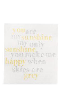 You Are Vinyl Sticker My Sunshine, Stickers, Decals
