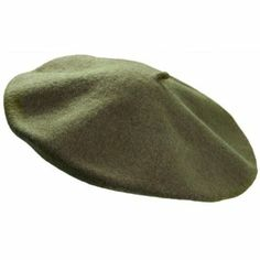 100% Wool Unlined Parisian Beret