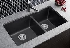 51 Best Blanco & Kindred Kitchen Sinks and Faucets images   Kitchen Undermount Kitchen Sink Faucet Grey on farmhouse kitchen sink faucet, single kitchen sink faucet, wall mount kitchen sink faucet,