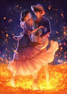 Coco Pixar - Hector Rivera & Imelda Rivera