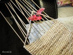 Хлебница фото 9 Straw Bag, Weaving, Bags, Paper Tray, Journaling, Craft, Trays, Paper Envelopes, Manualidades