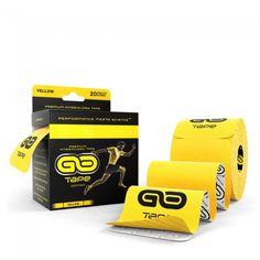 GO Tape - 20 Precut Strips - Yellow