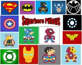 Other possible superhero pillow ideas that I can make into reality.