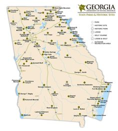 See Eclipse Information For All Georgia Cities And Towns In The - Map of georgia cities and towns