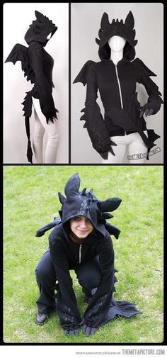 Wish | Toothless dragon hoodie…