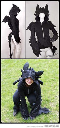 Wish | Toothless dragon hoodie…