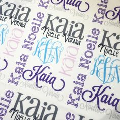 Items similar to Girl Personalized Baby Blanket - Monogram Baby Blanket Swaddle Receiving Blanket Baby Shower Gift on Etsy Receiving Blankets, Swaddle Blanket, Baby Monogram, Personalized Baby Blankets, Baby Skin, Vinyl Crafts, One Design, Baby Shower Gifts, Baby Boy
