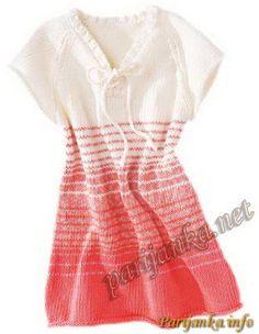 Платье (д) 08*68 Phildar №2521