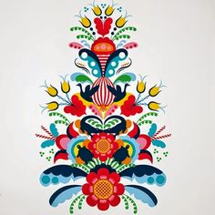 Everything's Coming up Rosemaling