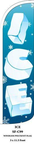 Ice Swooper Feather Flags Banner Sign