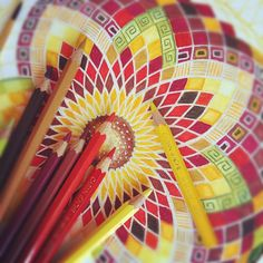 How to draw mandalas and other spiritual art. Learn an art that feeds your spirit. #learn #mindbody #thelocalwheel
