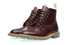 END. x Tricker's 2013 Fall/Winter Stow Brogue Boot