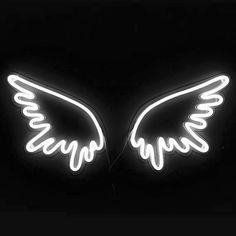 All of our personalized LED neon signs/lights can be bent and cut into many shapes & forms. Our waterproof LED lights have a lifespan of hours. Wings Wallpaper, Neon Wallpaper, Neon Aesthetic, White Aesthetic, Photo Wall Collage, Picture Wall, Neon Sign Bedroom, Neon Led, Custom Neon Signs