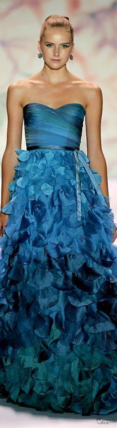 monique lhuillier.I love this color