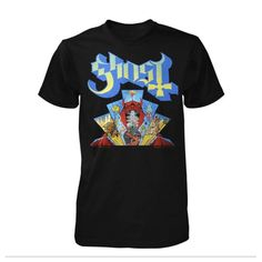 Made by Collage Band Ghost, Ghost Bc, Metalhead, Devil, Ghost Official, Tees, Mens Tops, T Shirt, Window