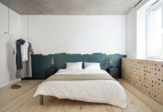15 imagens de quartos de casal industrial-moderno para você se inspirar - limaonagua