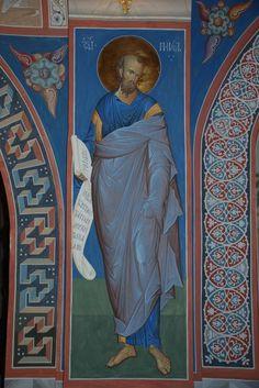 Alexander Derkachyov Byzantine Icons, Byzantine Art, Eye Details, Church Interior, Saint George, Orthodox Icons, Baby Owls, Religious Art, Color Pallets
