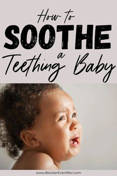Here's how to soothe a teething baby and things I've found to work. When baby is fussy or gnawing on things (or biting!), don't panic. As a first time mom, I found some remedies, diy, natural remedies, and how to help a teething baby. You can survive teething. #remedies #hacks #survive Good Parenting, Parenting Hacks, Baby Hacks, Baby Tips, Baby Teething Remedies, Baby On A Budget, Thing 1, Baby Massage, Baby Teethers