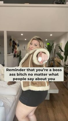 Girl Advice, Girl Tips, Curvy Fashion, Plus Size Fashion, Body Positive Quotes, Girl Power Quotes, Feel Good Videos, Girl With Curves, Self Motivation