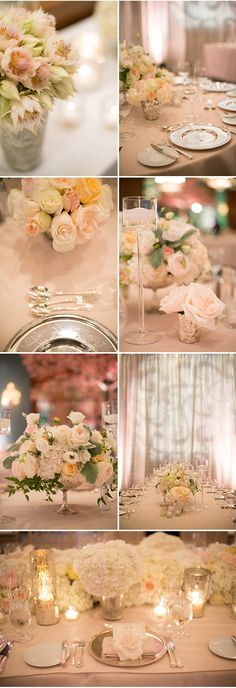 An Elegant Wedding Reception at The Four Seasons Hotel in Vancouver