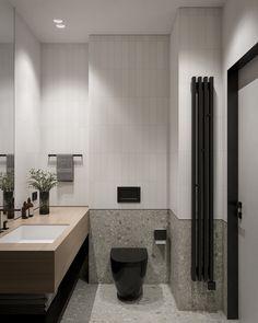 Washroom Design, Toilet Design, Bathroom Inspo, Bathroom Interior, Budget Bathroom Remodel, Contemporary Bathroom Designs, Gray Interior, Vanity Sink, Interiores Design