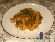 Pasta e taccole, ricetta primo piatto vegetariano