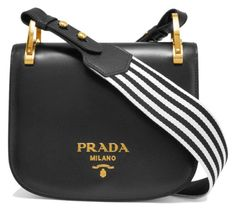 I would like this if it were stamped on the inside and I wasn't a walking billboard for Prada.