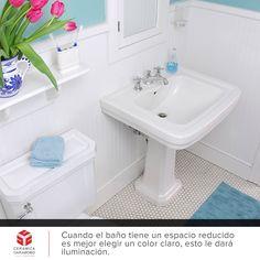 Si tu #baño es pequeño...