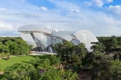 la Fondation Louis Vuitton à Paris