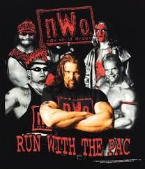 """Recently, there was a WWE generated poll in which The WWE decided that The Shield is """"the best stable in wrestling history"""". And I was thinking like, """"what a slap in the face of some the other great stables that came before it. Nwo Wrestling, Wrestling Superstars, Kevin Nash, Joey Lawrence, Dad Pictures, Boys Playing, Buffy The Vampire Slayer, Sports Art, Lucha Libre"""