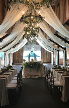 magnolia plantation draping by pure luxe bride