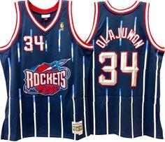 Hakeem olajuwon houston rockets nba hardwood classics throwback swingman  jersey 35aa92239