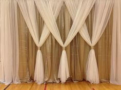 Wicked Best 25+ Curtain backdrop wedding https://weddingtopia.co/2018/02/03/best-25-curtain-backdrop-wedding/ Take a look at the size of the stage on which you are going to be performing