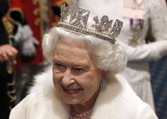 Britain's Queen Elizabeth II is pictured wearing the Diadem crown at the opening of Parliament in May. More than 10,000 diamonds set in works worn by British monarchs for over 250 years will go on show at London's Buckingham Palace this summer to celebrate the Queen's diamond jubilee. The exhibition includes a range of the queen's personal jewels, including the Diadem crown.