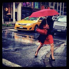 Rainy Days in NYC!